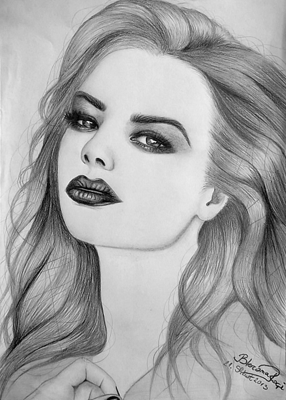 Beautiful girl by bleronaroci