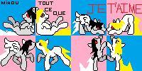 Pony!Batterie icons by NepetaLejion713