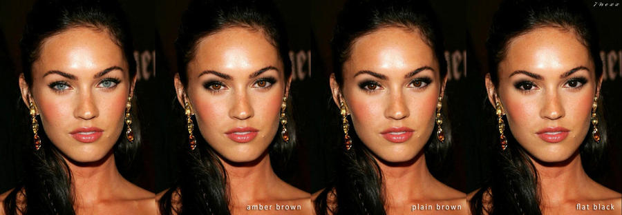 What would Megan Fox look like with brown eyes    PhotShop EXPERIMENTS    Pinterest   Brown eyes. What would Megan Fox look like with brown eyes    PhotShop