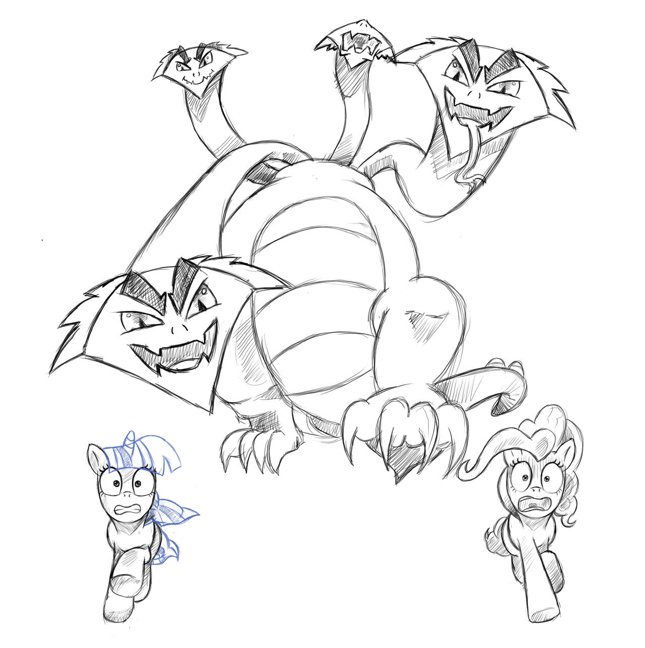 mythical creatures coloring pages images frompo
