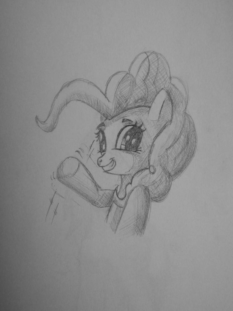 Pinkie Pie drawning by saturdaymorningproj