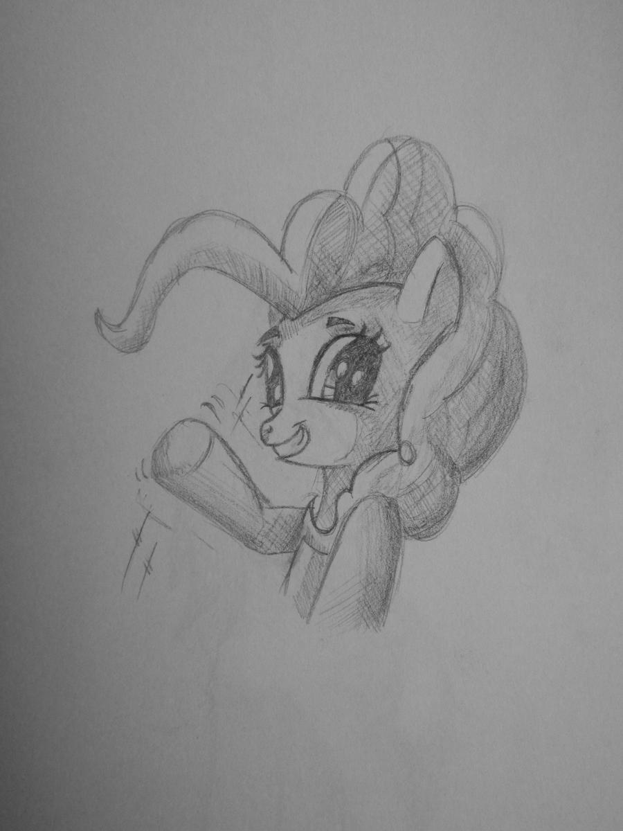 Pinkie Pie drawning by saturdaymorningproj