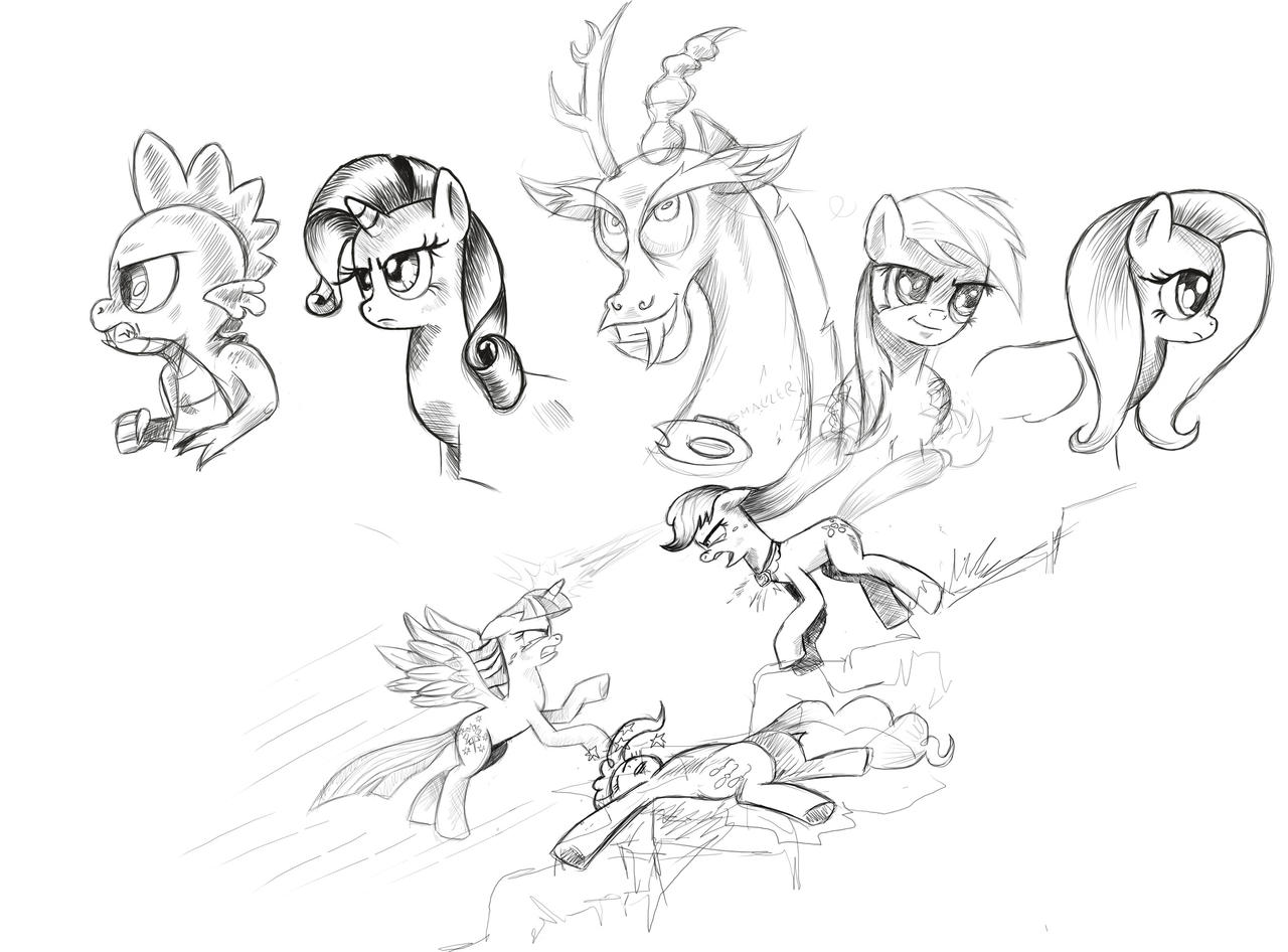 Sketches by saturdaymorningproj