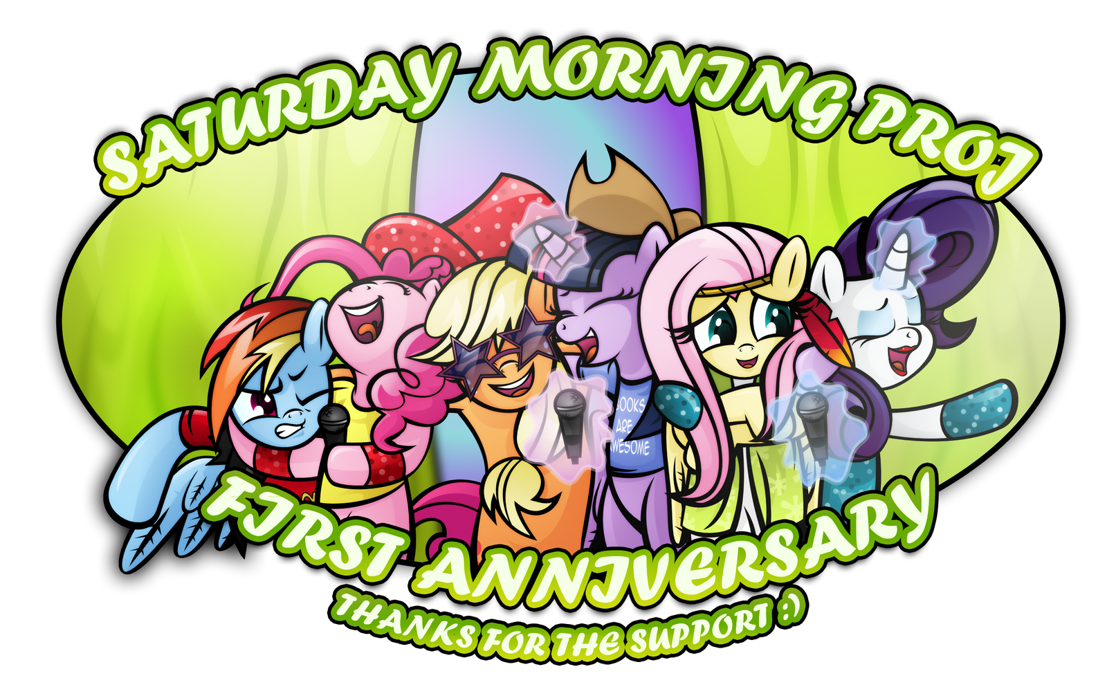 First Year on DA by saturdaymorningproj