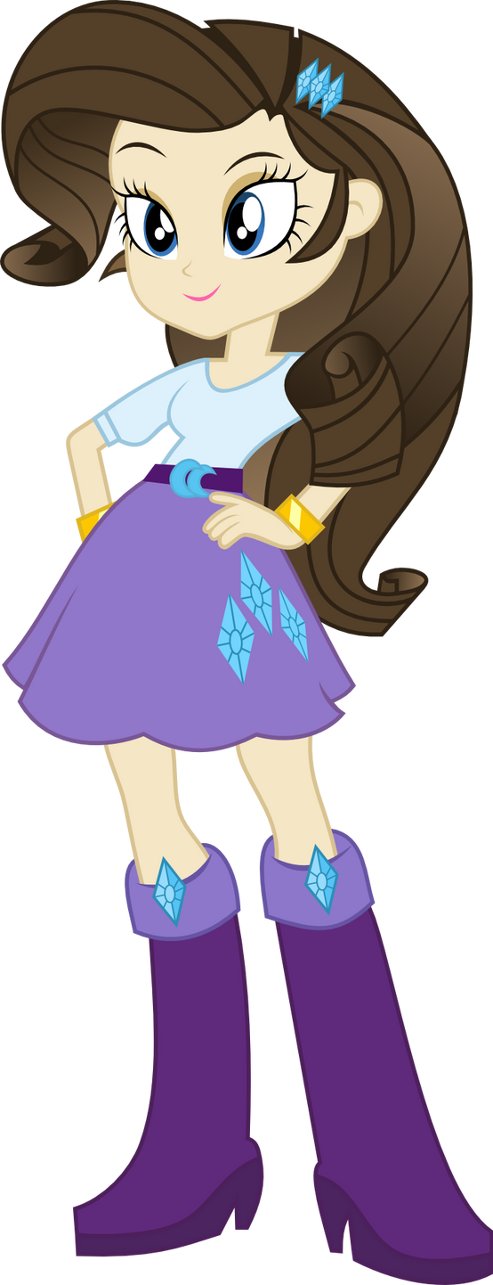 Eternal Era Equestria Girls - Rarity by saturdaymorningproj