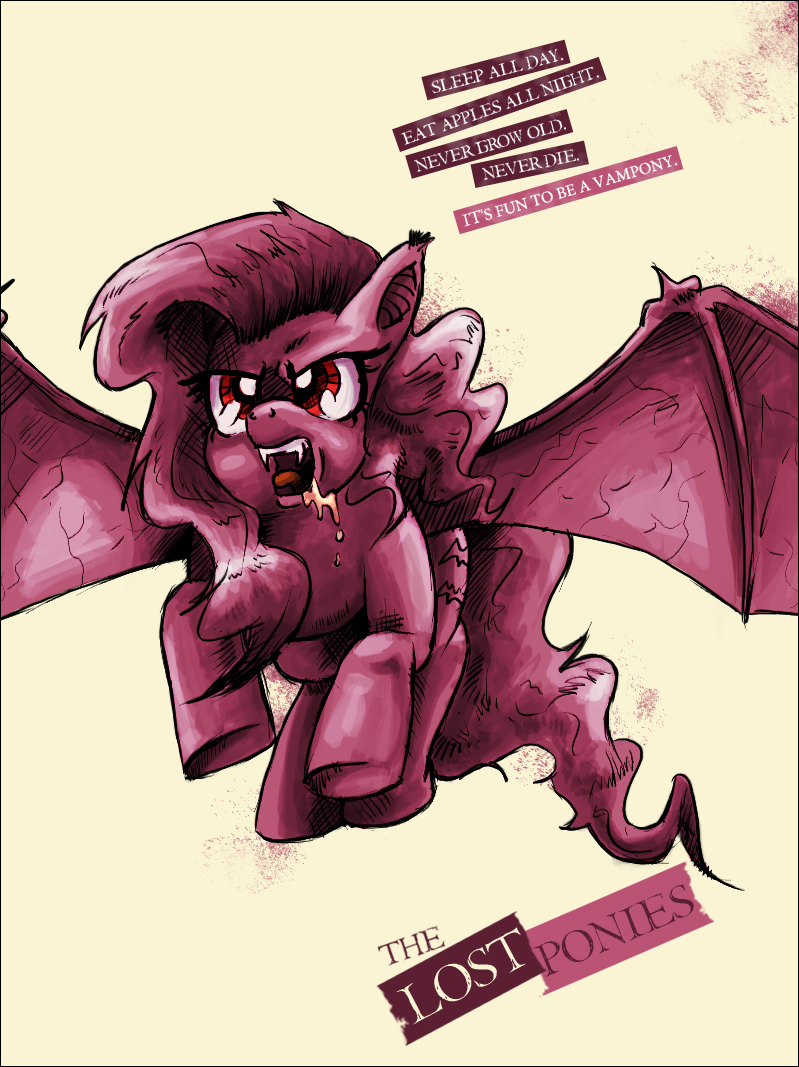 The Lost Ponies by saturdaymorningproj