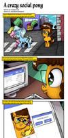 A Crazy Social Pony by saturdaymorningproj