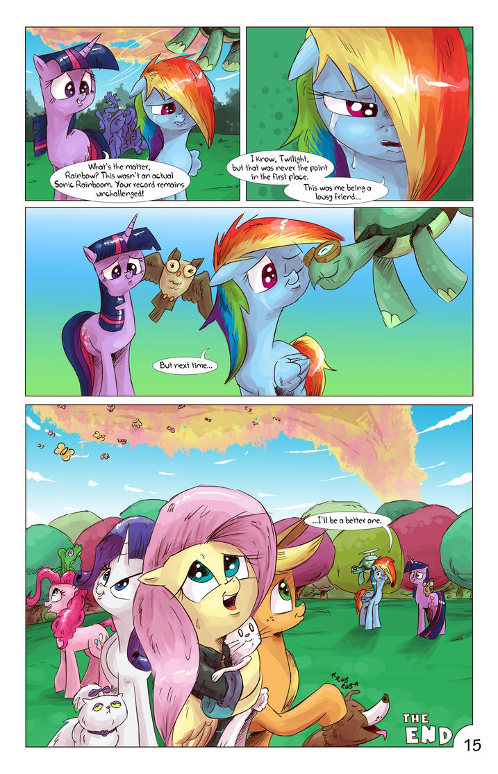 Angelic Flutterboom chapterIII page15 ( last ) by saturdaymorningproj