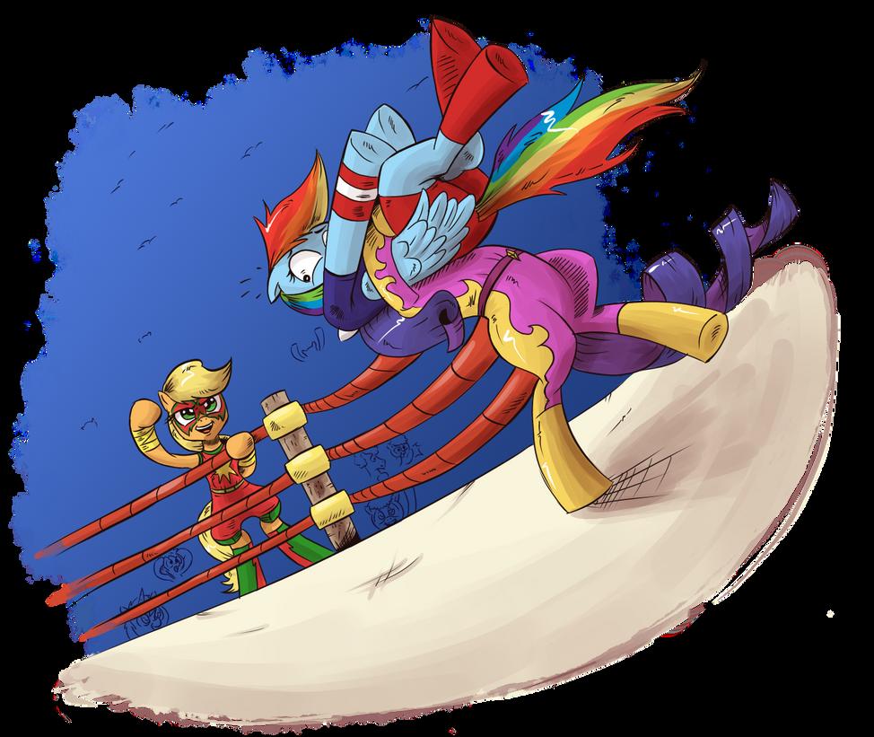 Lets Wrestle, Darlings by saturdaymorningproj