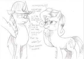 Happy Bday Pony-Berserker by saturdaymorningproj