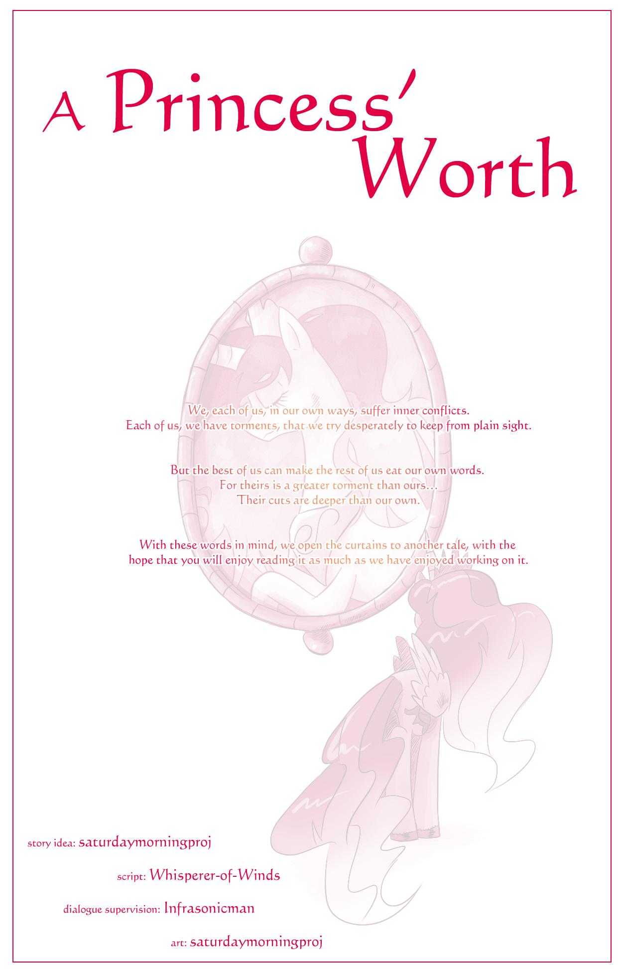 A Princess' Worth Introduction