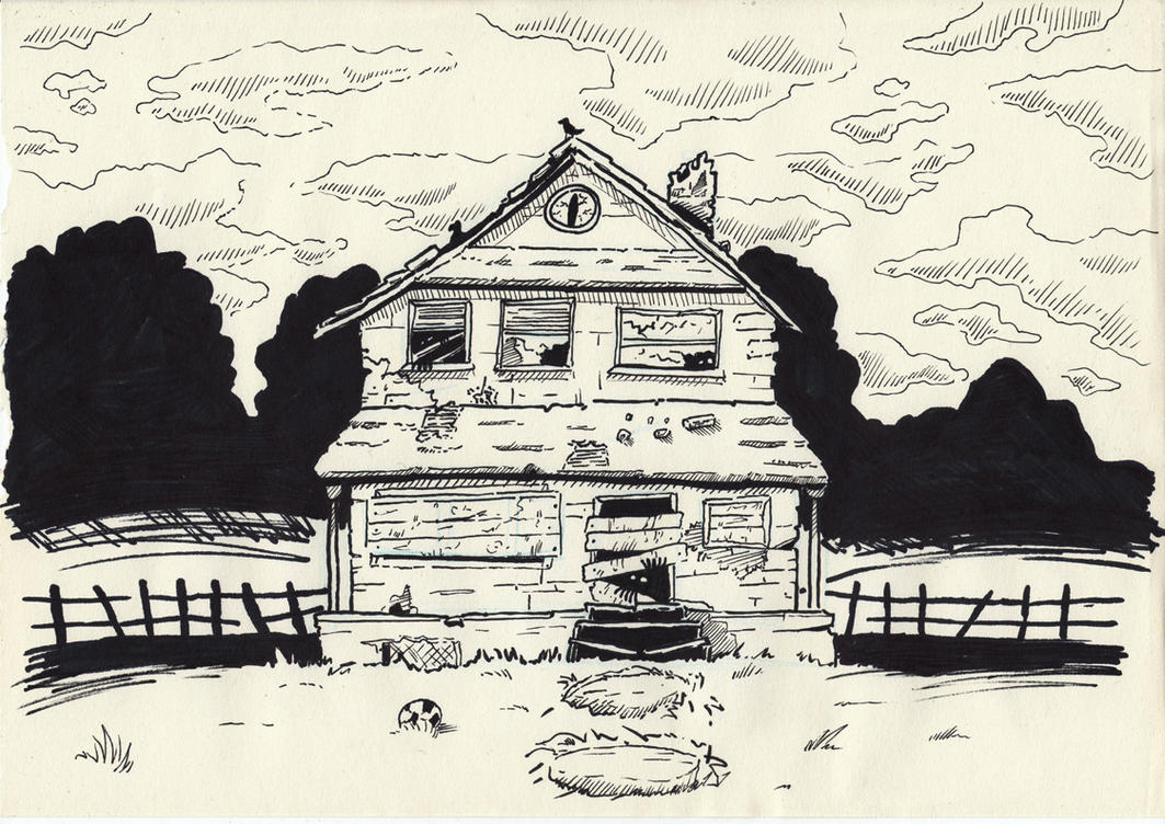 Abandoned House by saturdaymorningproj