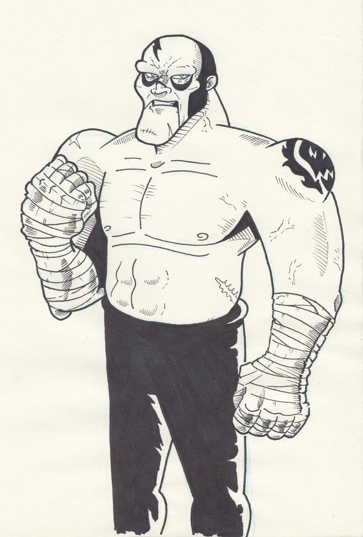 Doodling Them Wrestlers Again by saturdaymorningproj