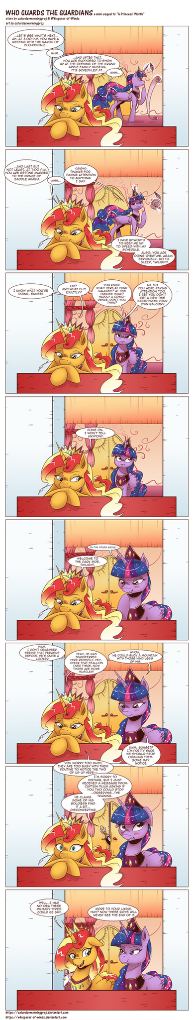 Who Guards the Guardians by saturdaymorningproj