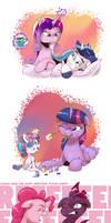 Random Pony Drawings by saturdaymorningproj