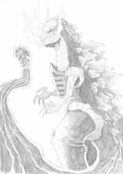 Shin Gojira by saturdaymorningproj