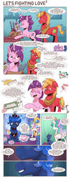 Lets Fighting Love part 3 by saturdaymorningproj