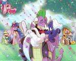 RariSpike Wedding by saturdaymorningproj