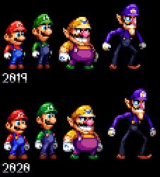 Super Mario Coalition: Playable Cast 2019-2020