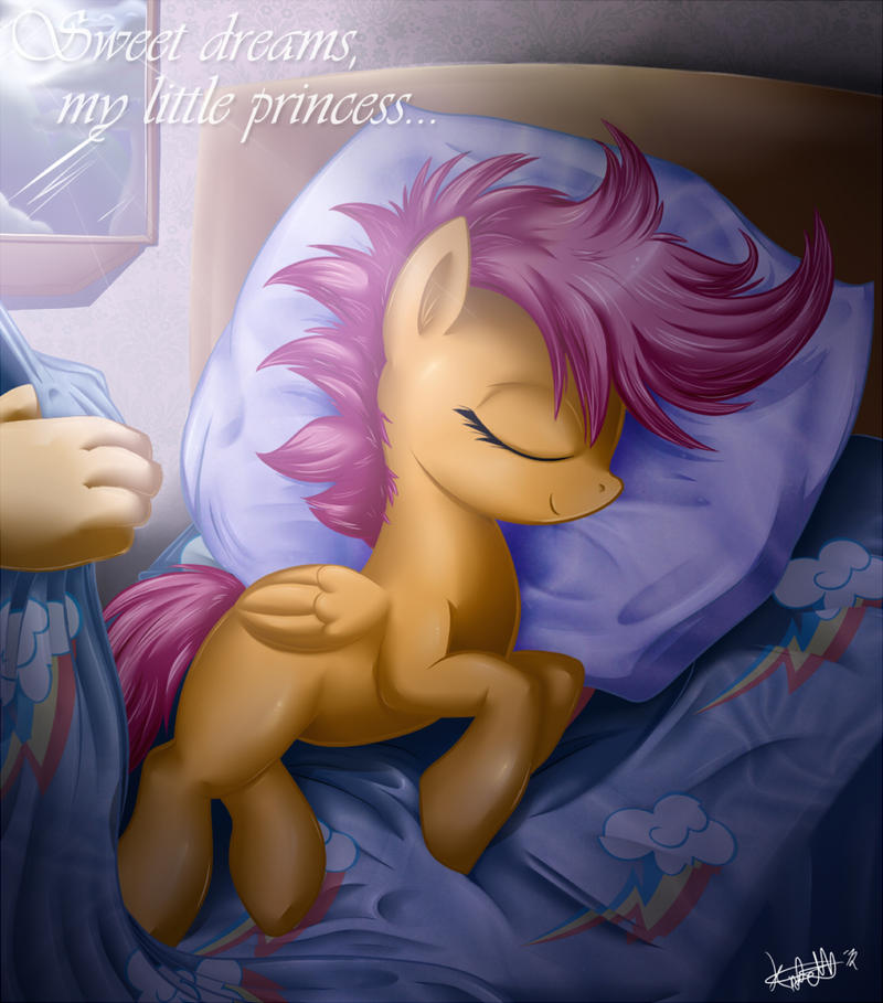 Sleeping princess by KnifeH