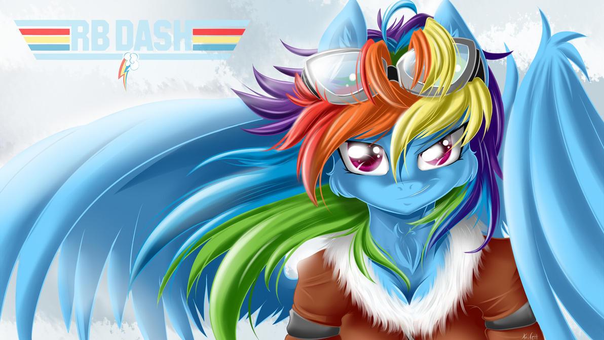Rainbow Dash wallpaper by KnifeH on DeviantArt