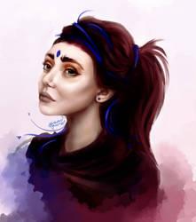 Wizard female design by MarkotnePierniki