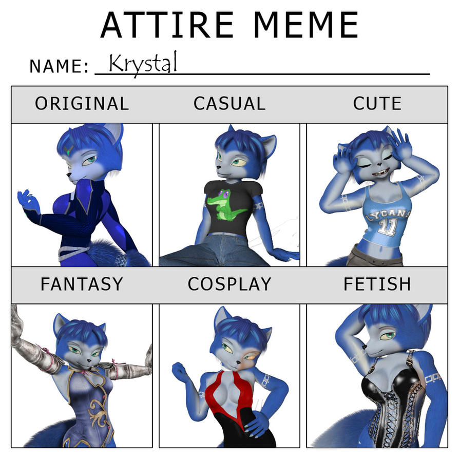 Attire Meme Krystal by Daymond42