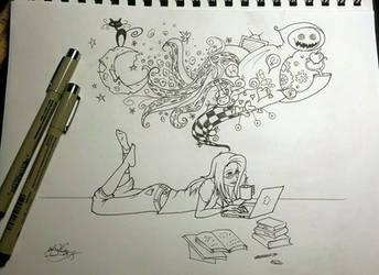 An Artist's Mind by vgdesigns