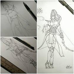 Diablo 3 Female Wizard by vgdesigns