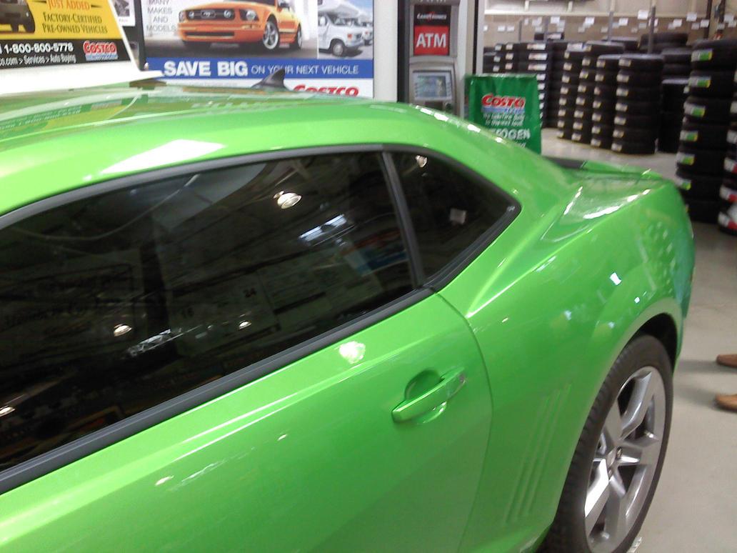 Green Camaro 2 by ~Foothepanda on deviantART