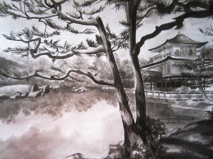 Japanese Landscape by Valk-Abarai on DeviantArt