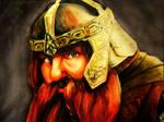 Gimli, son of Gloin. by Valk-Abarai