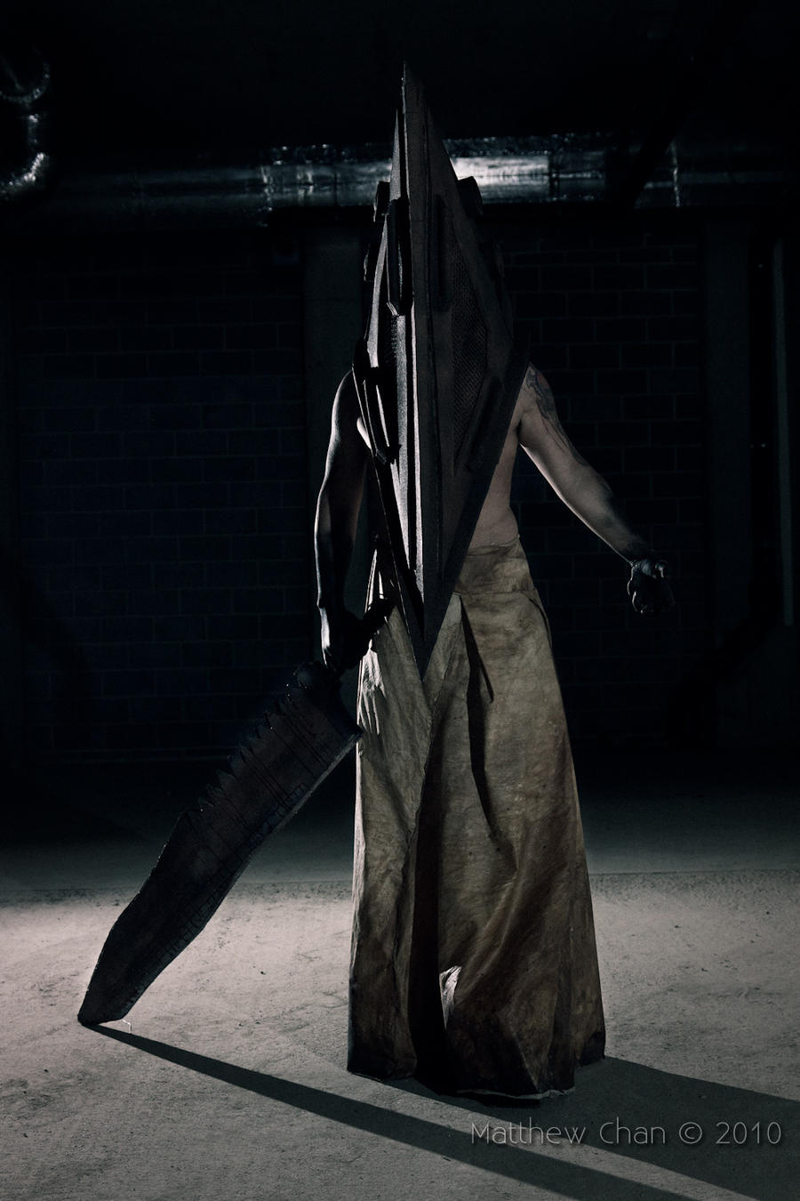 Pyramid Head I by Blasteh