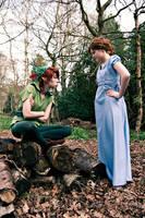 Peter Pan II by Blasteh