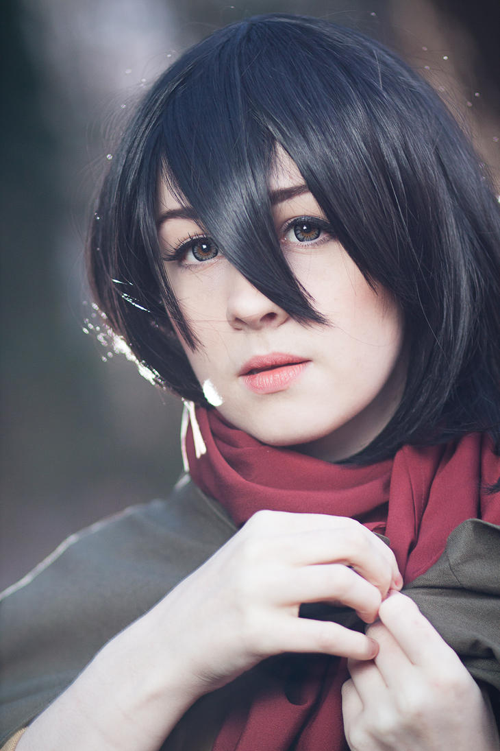 Attack on Titan - Mikasa 2 by Blasteh