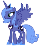 Princess Luna Vector