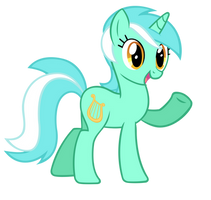 Lyra Says Hi - Vector by MisterLolrus