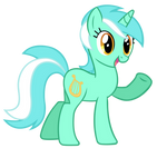 Lyra Says Hi - Vector