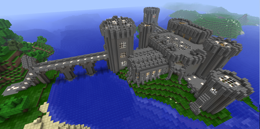 Minecraft Library Room Designs