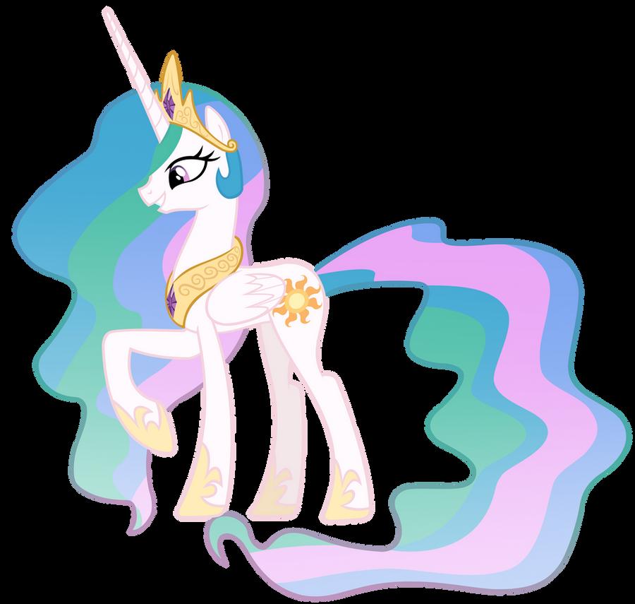 Princess Celestia Vector by MisterLolrus