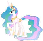 Princess Celestia Vector by MisterLolrus