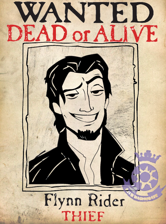 Flynn Rider Wanted Poster by AyameClyne on DeviantArt