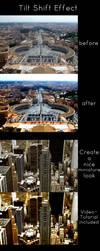 Tilt Shift Photoshop Action by wwcrap