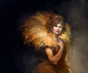 Fur And Gold by mcf