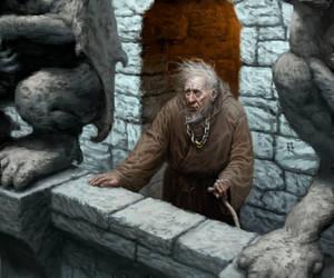 Maester Cressen by mcf