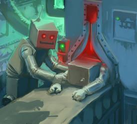 Birth Of A Machine by mcf