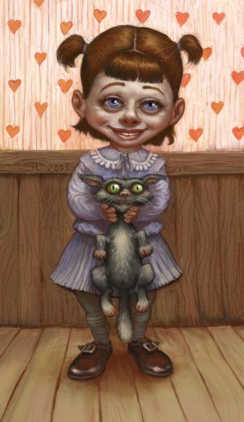 I love my kittie - revised by mcf