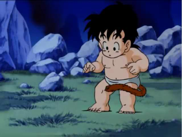 dragon ball z in diapers