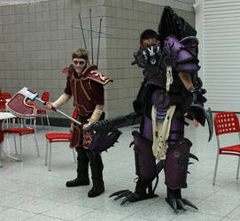 Chaos Cultist and Raptor