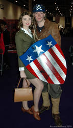 Peggy Carter and Steve Rogers